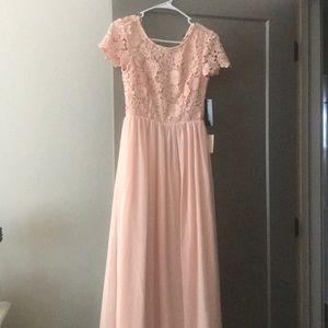 lulu's long formal dress